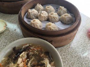 小籠包と酸辣麺