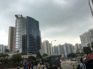 水天圍市街