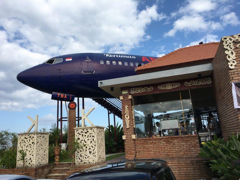 飛行機レストラン!AERO PARK@デンパサール